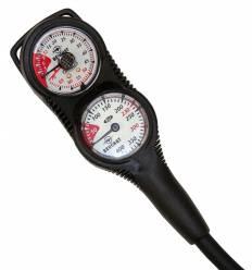 Console 2 éléments - Profondimètre + Manomètre 300 Bars