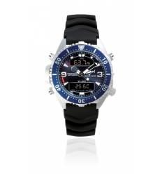 Montre Depthmeter modèle digital Bleu Marine