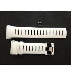 Bracelet Montre Suunto D6/D6i Blanc