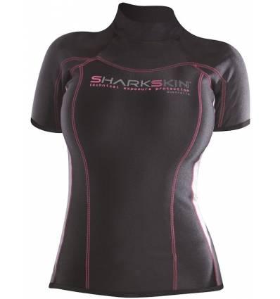 T-shirt Sharkskin Manche courte Femme