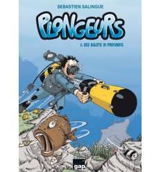BD PLONGEURS Tome 3 : Des Bulots in profundis