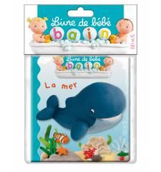 Livre de bébé bain : LA MER