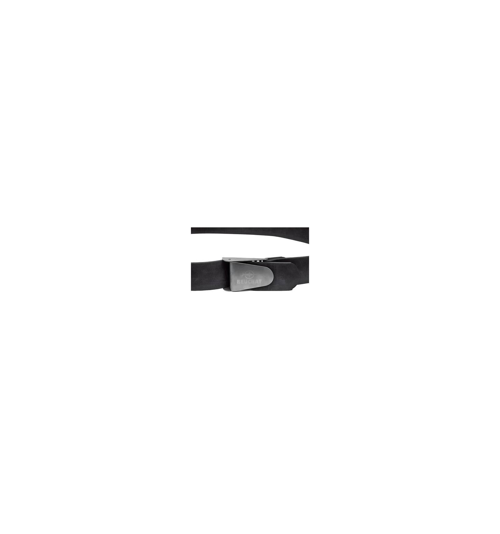 Ceinture boucle US Inox - Sangle néoprène - Beuchat Plongée ... 5f8e0ff9994