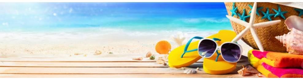 Chaussures et sacs de plage